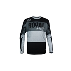 Royal Racing Race LS Jersey Black/Grey
