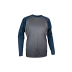 Royal Racing Heritage LS Jersey Grey/Blue