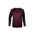 Royal Racing Heritage LS Jersey Red/Black