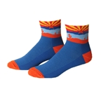"Save Our Soles Arizona 2.5"" Socks Blue"