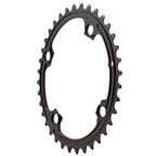 Absolute Black FSA ABS Oval Chainrings 4&5x110BCD 36T - Black