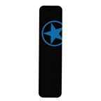 Bike Armor Downtube Frame Protector, Single - Blue Star