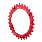 Race Face Narrow Wide Chainring 104BCD 30T - Red
