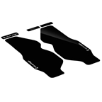 Rie:sel Design Forkguard Protection Film Set, Black