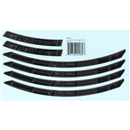 "Stan's MK3 Decal Kit 29"" Crest - Black"