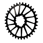 ShiftUp Engineering Spiderless GXP Direct Mount Chainring 34T - Black