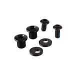 Absolute Black Oval30 Replacement Bolts 2M8+2M5 - Black