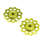 Kogel Bearings Hybrid Ceramic Deraill Pulleys Cross 10/11sp - Gold