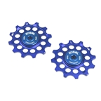 Kogel Bearings 12T Hybrid Ceramic Derailleur Pulleys SRAM 1X - Blue