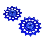 Kogel Bearings Hybrid Ceramic Derailleur Pulleys SRAM Eagle - Blue