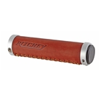 Ritchey Classic Locking Genuine Leather Grips 130mm Brown