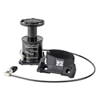 Stompump Portable Floor Pump Black