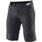 100% Airmatic Men's Short: Charcoal