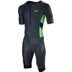 TYR Competitor Men's Speed Suit: Gray/Navy