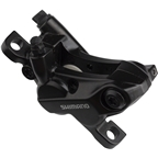 Shimano BR-MT520 4-Piston Disc Brake Caliper with Metal Pads, Front or Rear, Black