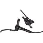 Shimano BL-MT200 Right Hydraulic Disc Brake Lever with 1700mm hose and BR-MT200 Post-Mount Caliper with Resin Pad, Black