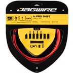 Jagwire 1x Pro Shift Kit Road/Mountain SRAM/Shimano, Red