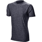 TYR Vista Short Sleeve Men's Rashguard: Black