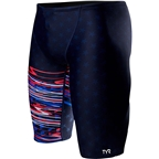 TYR Victorious Jammer Men's Swimsuit: Red/White/Blue