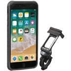 Topeak Ridecase with Mount Fits iPhone 8+/7+/6S+/6+, Black/Gray