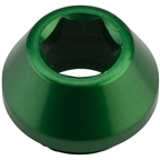Wolf Tooth 12mm Rear Thru Axle Axle Cap Green