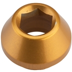 Wolf Tooth 12mm Rear Thru Axle Axle Cap Gold