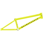 """We The People Message Frame 20.3"""" Glossy Metallic Yellow"""