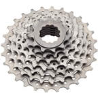 Dimension7-Speed 12-28 Tooth Cassette with Lock Ring and Silver Cogs