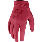 Fox Racing Ranger Women's Full Finger Glove: Rio Red