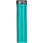 Deity Components Knuckleduster Grips - Turquoise, Lock-On