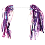 Dimension Kid's Bike Streamers: Pink/Purple; Pair