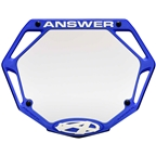 Answer BMX 3D Pro Number Plate - Blue