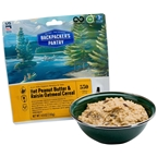 Backpacker's Pantry Organic Peanut Butter and Raisin Oatmeal Hot Cereal: 1 Serving