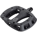 """iSSi Thump Pedals - Platform, Composite, 9/16"""", Black, Small, Replaceable Pins"""