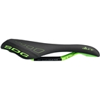 SDG Allure Saddle - Titanium Alloy, Black/Neon, Women's