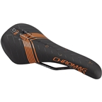 Chromag Lynx DT Saddle - Chromoly, Black/Tight Orange