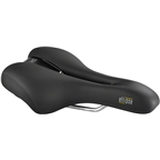 Selle Royal Ellipse Saddle - Steel, Black, Men's