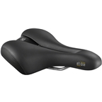 Selle Royal Ellipse Saddle - Steel, Black, Women's