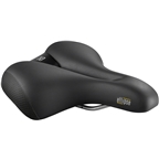 Selle Royal Ellipse Saddle - Steel, Black, Relaxed
