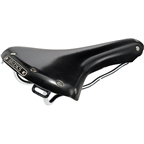 Brooks B15 Swallow Classic Chrome Rail Saddle Black