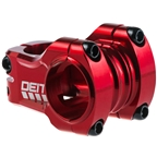 Deity Components Copperhead Stem - 35mm 35mm 0 Degree Aluminum Red