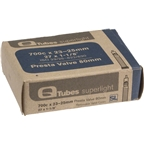 "Q-Tubes 700c x 23-25 (27 x 1-1/8"") Superlight Presta Valve Tube"