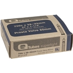 "Q-Tubes 700c x 28-32 (27 x 1-1/4"") Superlight 60mm Presta Valve Tube"
