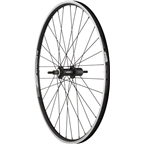 """Quality Wheels Rear Wheel Value Series 26"""" 135mm Bolt-on 32h Shimano / Alex DC19 / DT Factory All Black"""