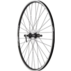 Quality Wheels Rear Wheel Value Series 700c 130mm QR 32h Shimano / Alex DC19 / DT Factory All Black