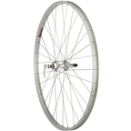 "Quality Wheels Value Series Rear Wheel 27"" 126mm Cartridge Bearing, 32h, Silver"
