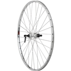 "Quality Wheels Rear Wheel Road Rim 27"" 130mm QR 32h Shimano Hub"