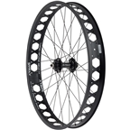 "Quality Wheels Front Pugsley Wheel Disc 26"" Surly Ultra New QR x 135mm Surly Other Brother Darryl Tubeless 17.5mm Offset"