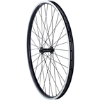 Quality Wheels Front Wheel Clydesdale XL Rim Brake 700c 100mm QR Shimano Deore / Velocity Cliffhanger Black
