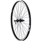 Quality Wheels Rear Wheel Clydesdale XL Rim Brake 700c 130mm QR Shimano Tiagra / Velocity Cliffhanger Black